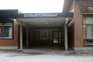 Jämtlands gymnasium Palmcrantzskolan i Östersund.
