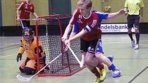 Knäppmoras lagkapten Emil Åhlén.