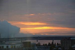 På lucialördagen är det meningen att Sundsvall ska slå världsrekord i världens längsta fackeltåg på den nya bron.