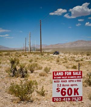 I Nevadas öken hittar man nöjesmetropolen Las vegas, men även detta.