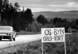 Efter Kurt Henningssons prestation med ett OS-guld gjorde blev det rena yran i hembyn Hedeviken som med ett huj förvandlades till Guldbyn.