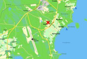 Strax utanför Mora flygplats störtade sportplanet.