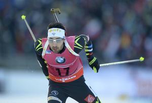 Martin Fourcade utklassade alla konkurrenter när han vann sprinten i Östersund.
