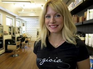 Annika Blyckertz på Salong Gioia är en av de första i Gävle som skaffat licensen.