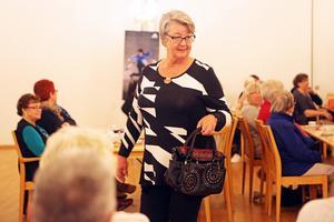 Kläder från Saffran, Ada & Arvid och Härjedalens Telemarketing samt glasögon från Sperrings optik visades på måndagskvällen.