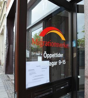 Migrationsverket i Sundsvall.