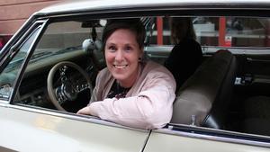 Anna Wikström var en av bilförarna på cruisingen.