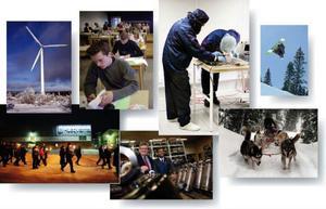 Omställning och förnyelse i regionens arbetsliv är ett av syftena med stimulanspaketet. Fler unga i länet behöver också högre utbildning för att hålla måttet på arbetsmarknaden framöver. Montage: Kjell Nilsson-Mäki