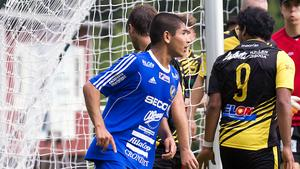Ehsan Hosaini har imponerat på Fagersta Södras mittfält.