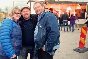 Ann-Charlotte Danielsson, Magnus Olsson-Wänn och Janke Moberg.