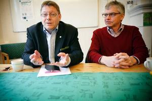 Per Lodenius, centerpartistisk riksdagsman och ledamot i kulturutskottet, var i Östersund i går för att besöka olika kulturutövare och titta på tillgängligheten när det gäller kultur. Centerpartistiske riksdagsledamoten Per Åsling tog emot på expeditionen i Östersund.– Centern driver frågan att öka befolkningstalet i Jämtland med 10 000 fler till 2020, vi tror att kulturen kan vara en viktig tillväxtmotor till det, säger Per Åsling.