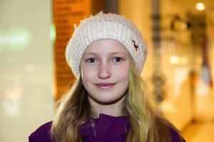 Lina Johansson, Varvet:– Jag ska vara med några kompisar och kanske åka slalom.