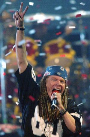 """I november gav Guns N' Roses till slut ut albumet """"Chinese democracy"""" efter 15 års väntan. Foto: Scanpix"""