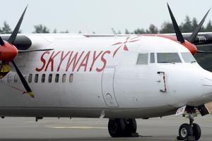 Skyways var ett av de flygbolag som gick i konkurs förra året.