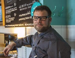 Johan Modéer, krögare, vill se mer ursprungsmärkning på restaurangmaten.