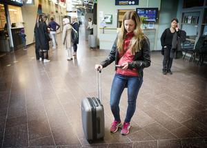 SAS pilotstrejk drabbar många resenärer, Marie Eriksson från Åkeräng.