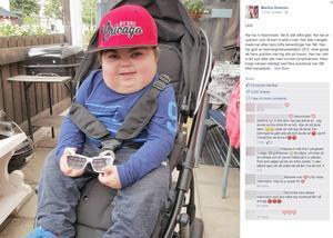 Maximiliams mamma Martina Boström tröttnade på sneda blickar och kommentarer och gjorde ett Facebook-inlägg som delas i raketfart.
