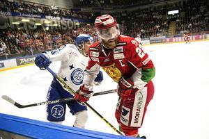 Daniel Hermansson i Moras tröja förra säsongen.