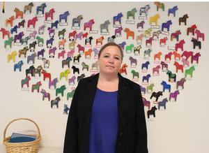 – Det är viktigt att det blir lika bra för barnen som för andra barn på förskolan, säger Karin Öst, förskolechef om utbyggnaden med moduler på Trollskogen.