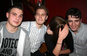 Konrad. Amir, Pontus och Sebastian