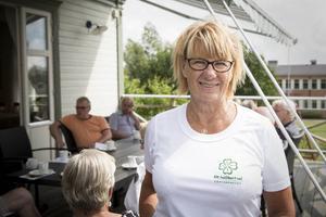 Ingrid Kjelsson (C) bjöd in till möte om Bräckes framtid på hembygdsgården i Gällö.