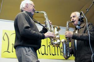 Edsbykvintetten bjöd på andliga toner, som Calle Östs Månvisa.