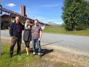 Ägartrion Mikael Kraft, Veronica Norlander och Magnus Nilsson