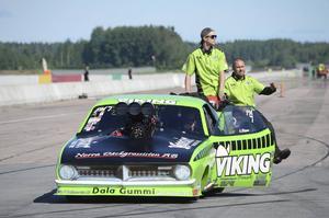 Anders Nilsson från Älvdalen gick vidare en runda.