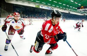 Stefan Söder och hans Örebro Hockey förlorade hemma mot Almtuna.