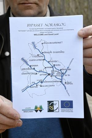 Nu är bypasset klart och ska locka turister och besökare till besöksmål i hela kommunen.