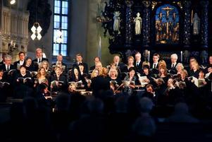 En svensk Markuspassion framfördes i går i Heliga Trefaldighetskyrkan med körer och musiker.
