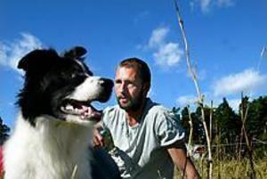 Arkivfoto: ANNAKARIN BJÖRNSTRÖM Nionde plats. Hunden Liv och Joel Svensson tävlar ihop.