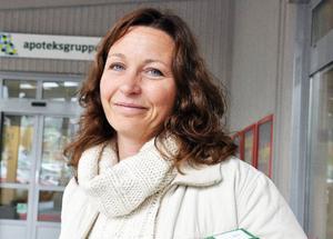 Martina Fortkord, Åre:– Jag tänker på belysningen. Att det är så nedsläckt och nattsvart i byn och hur det går ihop med brottsbekämpning. Och även utanför på vägarna, jag tänker på dödsolyckan i Undersåker.