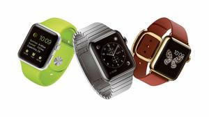 Apple watch kan visa en bakgrundsbild på dispalyen.