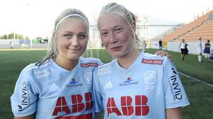 Tre säkra pinnar efter målskytte av Carolina Jonsson och Emma Salmi.