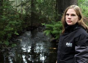 Anna Hansson är både miljöinspektör och kommunekolog i Ockelbo.