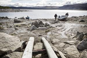 80-årige Klas Klemenssons har aldrig kunnat nyttja sin sjösättningsramp då den byggdes framför ett stenröse.