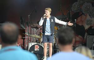 Viktor Wiig inledde Sundsvall bjuder 2016.
