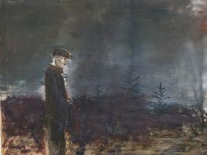 Alfred, målning av Hans Wigert.