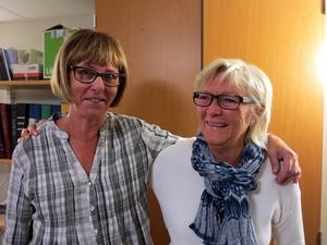Inger Forslin och Inger Andersson, glada kursledare, som har mer än förnamnet gemensamt.