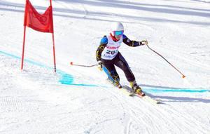 Lisa Englund körde sin första världscuptävling för året. Förra säsongen blev hon totaltrea i världscupen och takterna sitter i då hon knep andraplatsen i tisdagens sprinttävling.