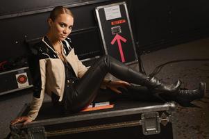 Agnes Carlsson är aktuell med nya skivan