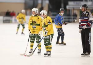 Johan Berglund gjorde ett av LBK:s tre hörnmål mot UNIK.