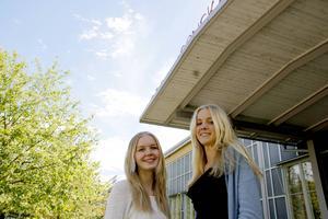 Nästa helg åker Emma Sandberg och Lisa Roodzant på mässa för unga entreprenörer.