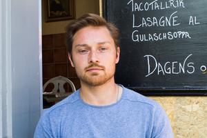 Nils Adler vid Kalle på Spången.