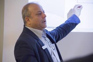 Mohamed Chabchoub, chef på arbetsförmedlingen i Söderhamn.