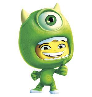 Stitch, Wall-E och monstret Mike är några av de 14 Disneyfigurer som samsas i Disney Universe.