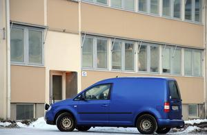Gamla polishuset i Fränsta.