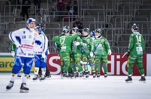 Hammarby vann årets bronsmatch med 6–5 mot Villa Lidköping.