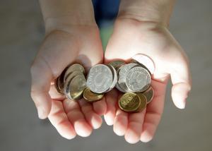 Funktionsnedsatta personer som har sysselsättning i den kommunala dagliga verksamheten, har i regel inte så mycket pengar att röra sig med.